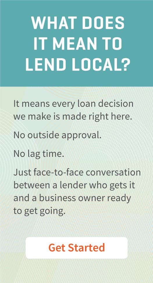 Lend Local promo